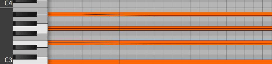 Bitwig Pitch Bend