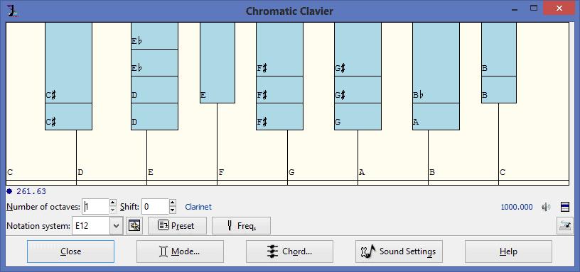 Chromatic Clavier