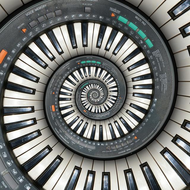 Piano de caracol 1 by Armando Aguayo Rivera
